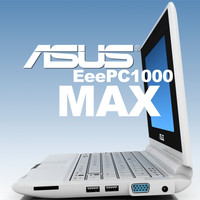 notebook asus eee pc 3d model