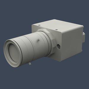 3d model procilica camera