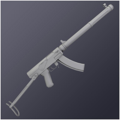 3d chinese type 64 model