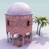 rotunda shrine 3d lw