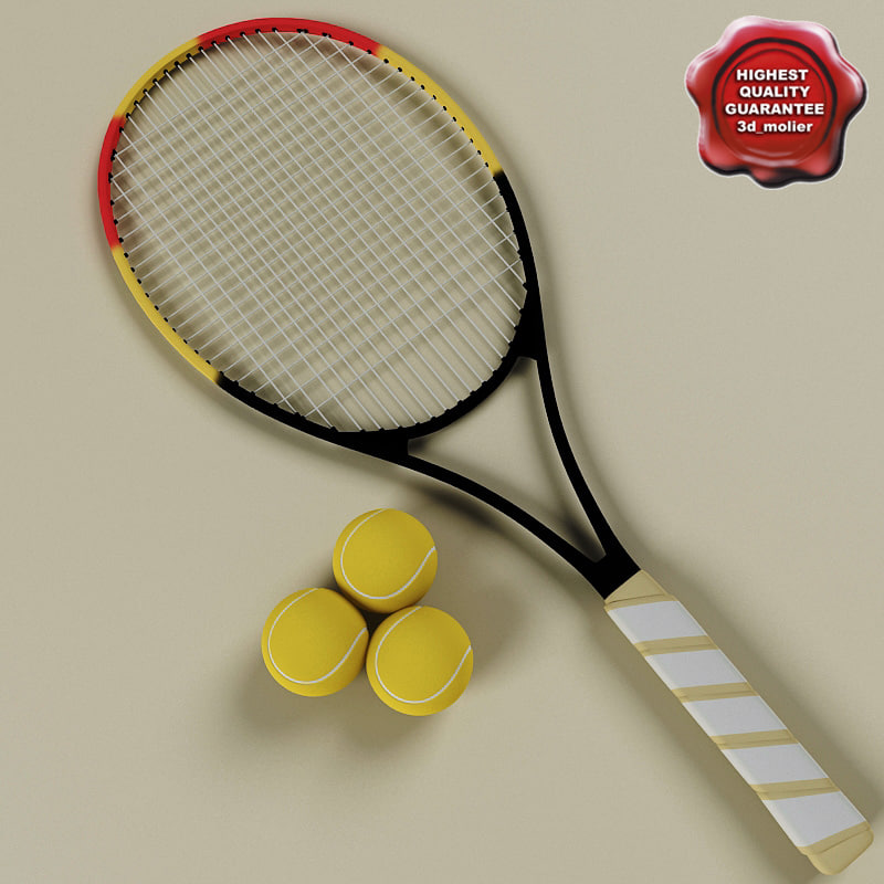 xsi tennis racket ball