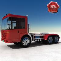 truck mercedes benz econic 3d max