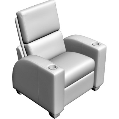 3d model theater chair