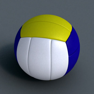 3d volley volleyball ball