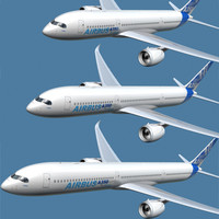 A350 Three Variations