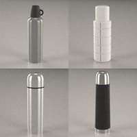 termo bottle 3d model