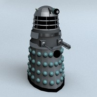 3d model of mark 1 dalek