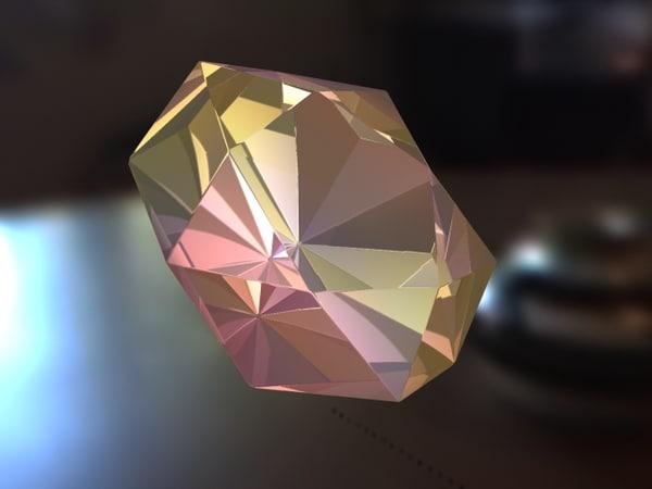 free diamond 3d model
