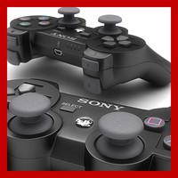 playstation ps3 controller - 3d lwo