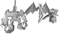 final fantasy 7 omega weapon set