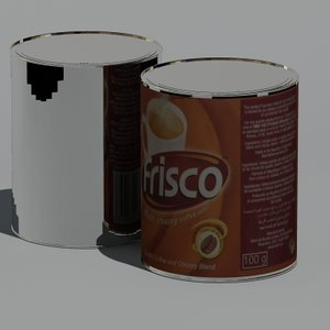 3ds max frisco coffee 100g