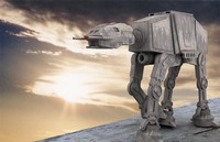 3ds max at-at walker