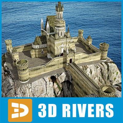 castle gothic 3d model