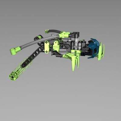 3d lego insects model