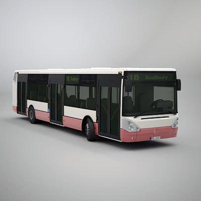 3d irisbus citelis 12m model