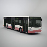 3d irisbus citelis 12m model
