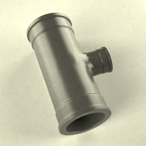 industrial pipe 3d model