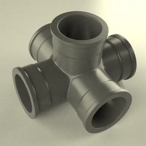 3ds max industrial pipe