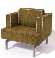 krug chair 3d model