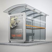 Modern Bus Stop