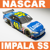 NASCAR Chevy Impala SS Johnson