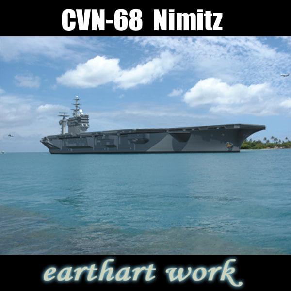 3d aircraft carrier uss nimitz