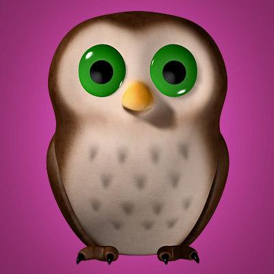 owl cartoon max