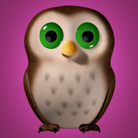owl cartoon max