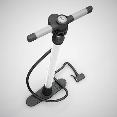 hand pump 3d 3ds