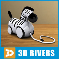baby toy pull 3d max
