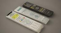 3d remote set model
