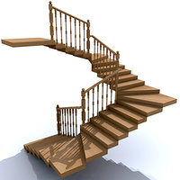 stair wood
