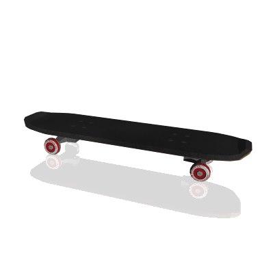 3ds max skateboard board