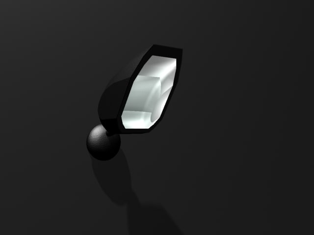 free spotlight light 3d model