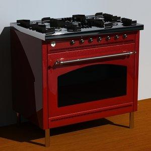 stove 3d 3ds