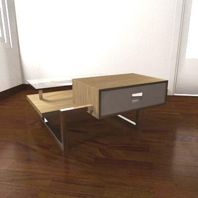 table designed magazine obj