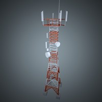 3ds max telecom tower