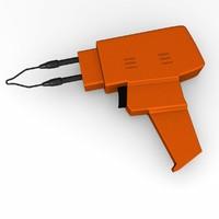 3d tin solder model