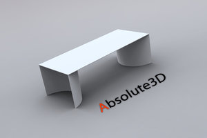b italia archie table obj