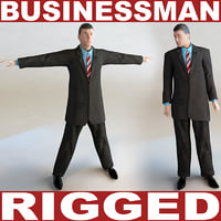 Businessman (rigged)