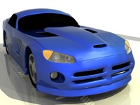 free viper srt 3d model
