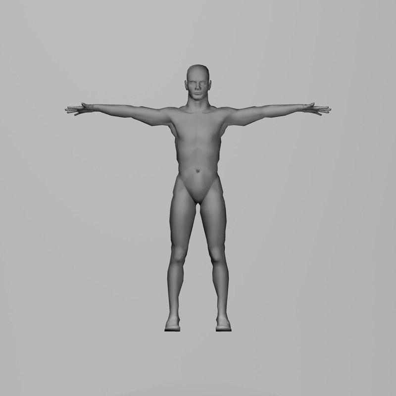 Human Body 3D Models for Download   TurboSquid