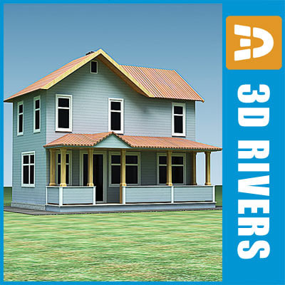 small town house building max