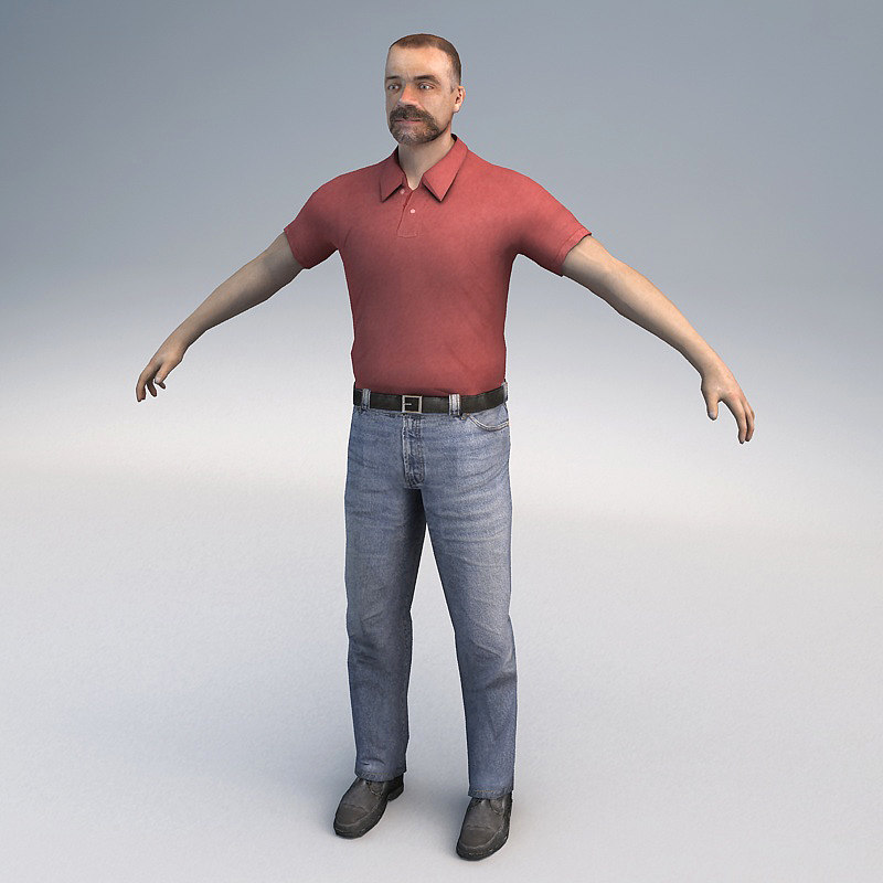 max ready casual character
