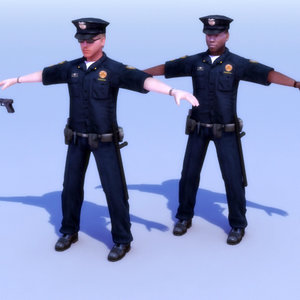 3d policeman games