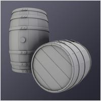Wooden Barrel (HD)