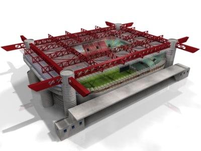 san siro stadium 3ds