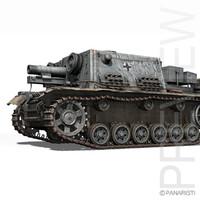 33b stuig 3d model