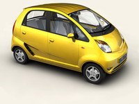 3ds tata nano car