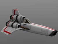 Battlestar Galactica Original Series Viper Mk1